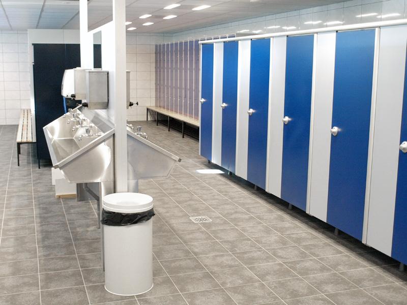 Verbouw, renovatie en nieuwbouw van kantine, sanitaire ruimten en opslagloods voor Damen Den Helder
