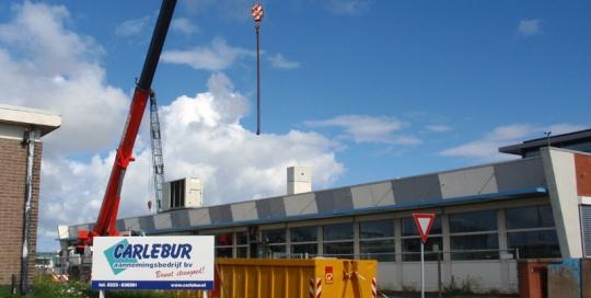 Verbouw en onderhoud van het scheikundige laboratorium op Fort Harssens te Den Helder