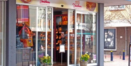 Verbouw winkelruimte voor bakkerij Dunselman