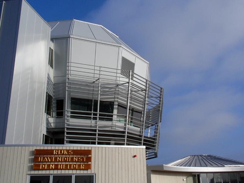 Nieuwbouw en verbouw Havenkantoor op Fort Harssens Den Helder