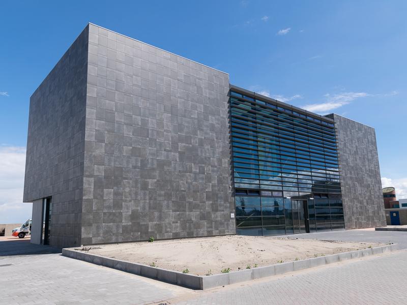 Nieuwbouw van gebouw NBCD Trainingcentrum