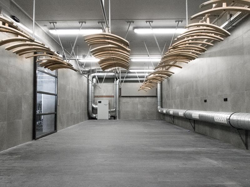 Droogruimte in nieuwbouw NBCD Trainingscentrum