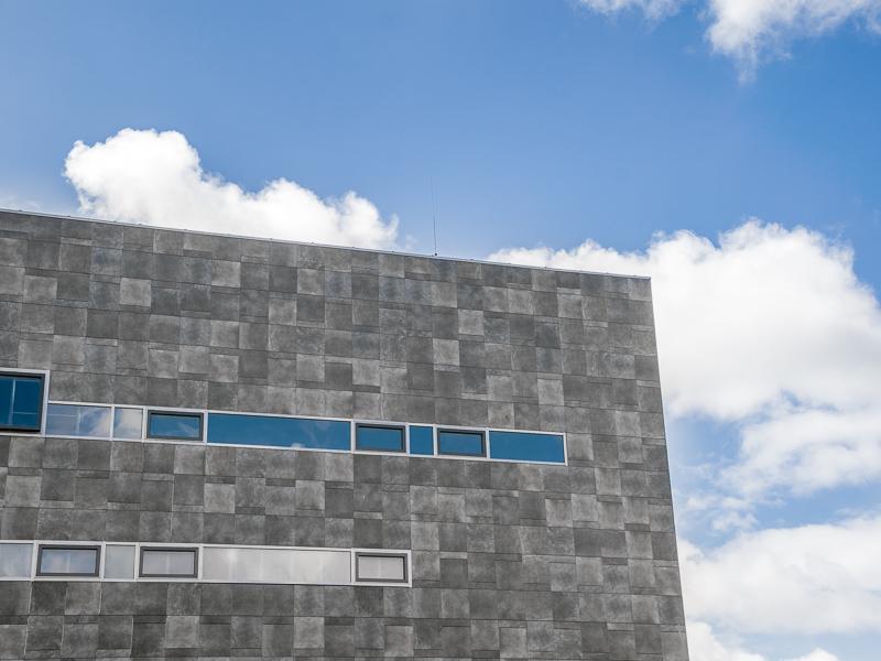 Nieuwbouw van gebouw NBCD Trainingscentrum