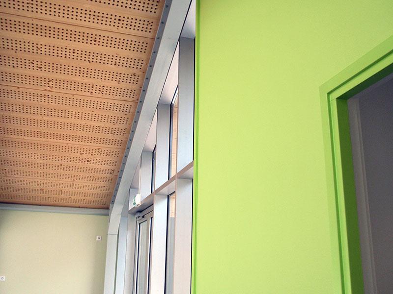 Interieur van nieuwbouw en verbouw van sportfaciliteit Clubgebouw in Bergen