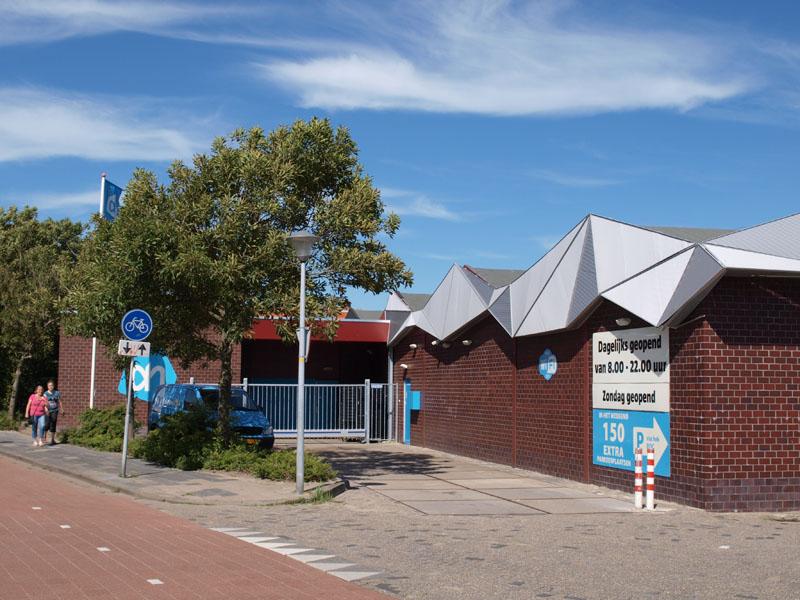Bouw van een magazijn voor Albert Heijn Boonstra in Den Helder
